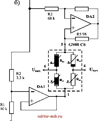 Rl - позистор (P =3725K)